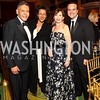 Photo by Tony Powell. Felix Sanchez, Debra Langford, Adrienne Arsht, Jorge Plasencia. Noche de Gala 2010. Mayflower Hotel. September 14, 2010